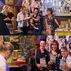 Author Reading, Save the Date, Lesbian Bar, A League of Her Own
